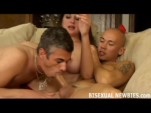 Sucking your first cock