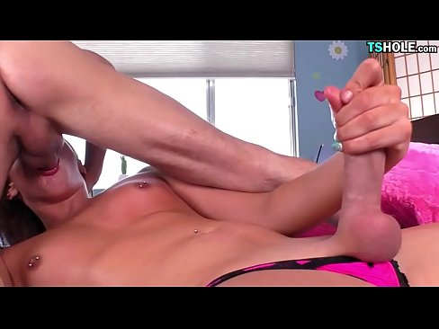 Shemale loves cock
